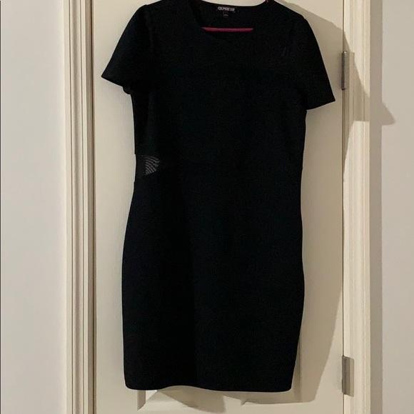 Express Dresses & Skirts - Express Mesh Cutout Dress